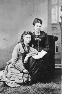 Margaret Adair James & Daughter Pearl James