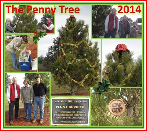 LHS Membes decorating the Penny Tree