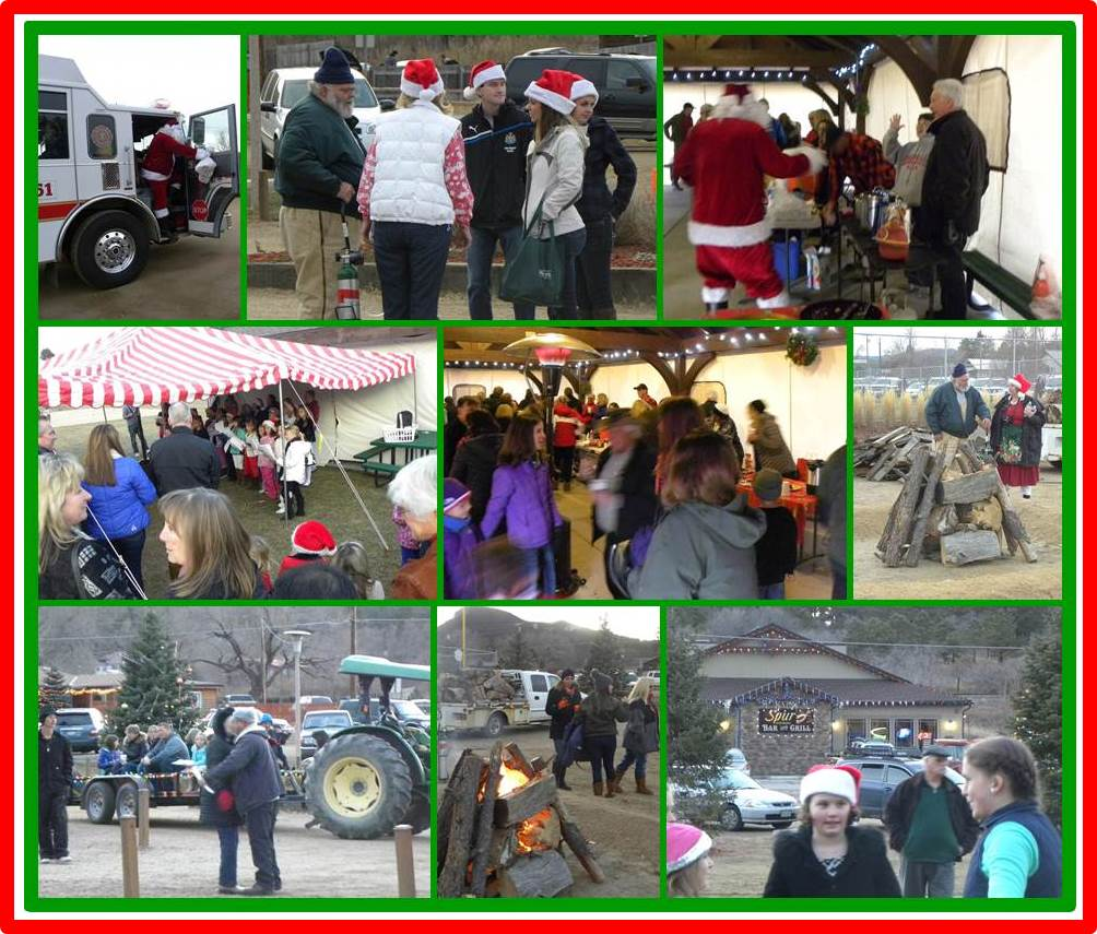 Larkspur 2014 Tree Lighting Event